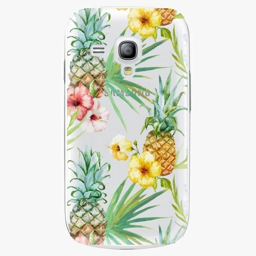 Plastový kryt iSaprio - Pineapple Pattern 02 - Samsung Galaxy S3 Mini