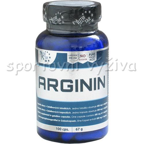 Arginin 500 mg 100 kapslí