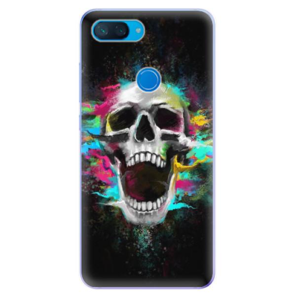 Odolné silikonové pouzdro iSaprio - Skull in Colors - Xiaomi Mi 8 Lite