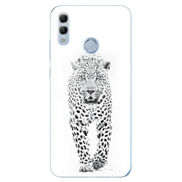 Odolné silikonové pouzdro iSaprio - White Jaguar - Huawei Honor 10 Lite
