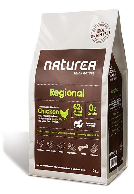 Naturea GF dog Regional - Adult all breeds 100g