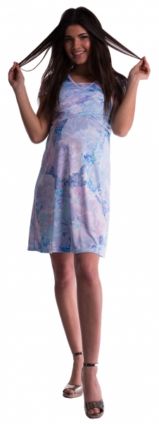 be-maamaa-tehotenske-a-kojici-saty-s-kvetinovym-vzorem-modre-kvety-m-38