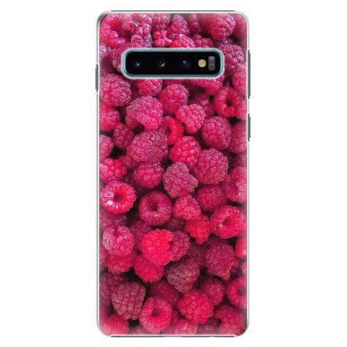 Plastový kryt iSaprio - Raspberry - Samsung Galaxy S10