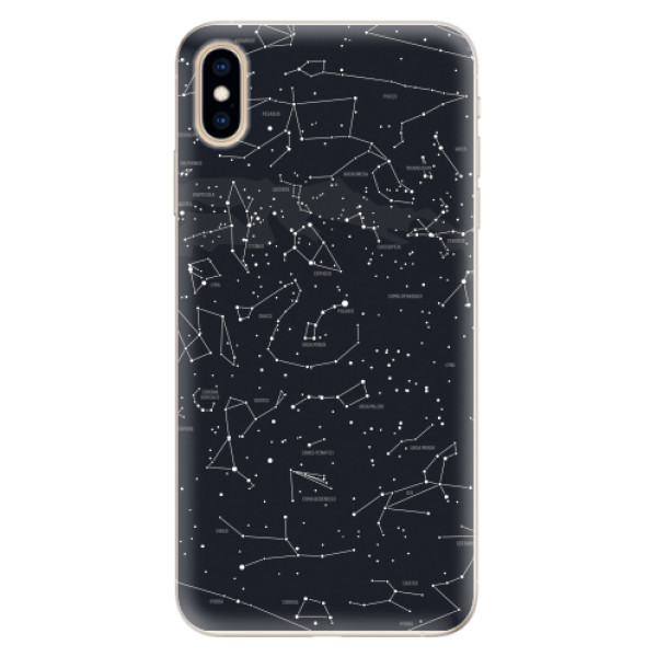 Silikonové pouzdro iSaprio - Night Sky 01 - iPhone XS Max