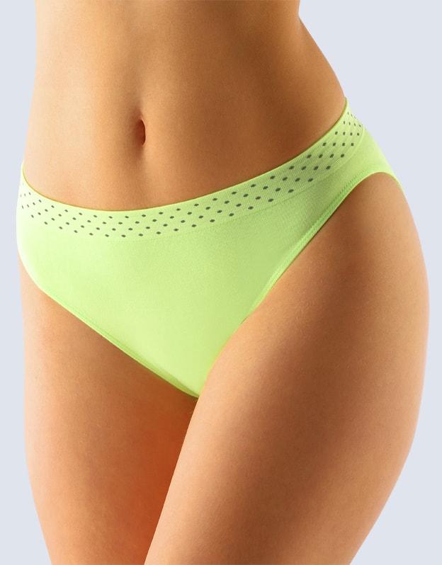 Dámské kalhotky bezešvé GINA Bamboo 00033P - apple - S/M