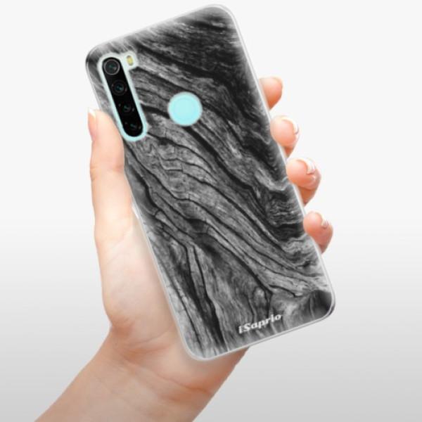 Odolné silikonové pouzdro iSaprio - Burned Wood - Xiaomi Redmi Note 8
