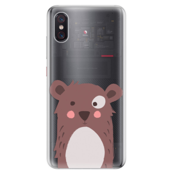 Odolné silikonové pouzdro iSaprio - Brown Bear - Xiaomi Mi 8 Pro