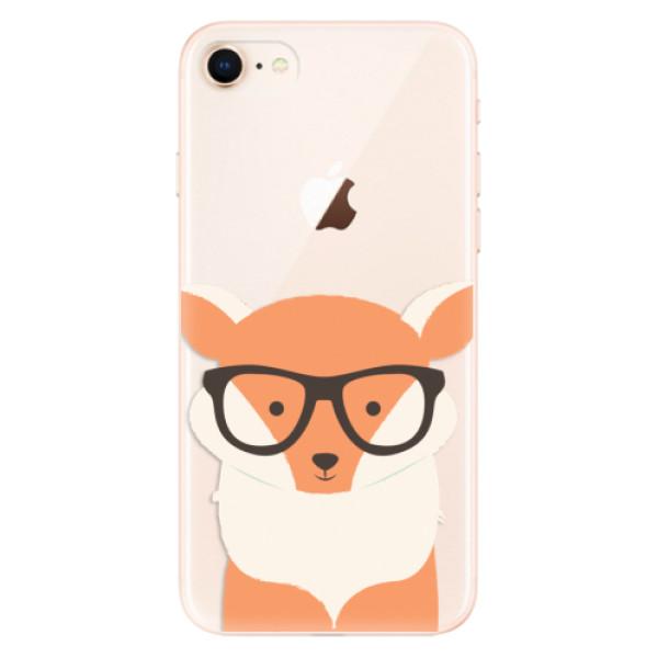 Odolné silikonové pouzdro iSaprio - Orange Fox - iPhone 8