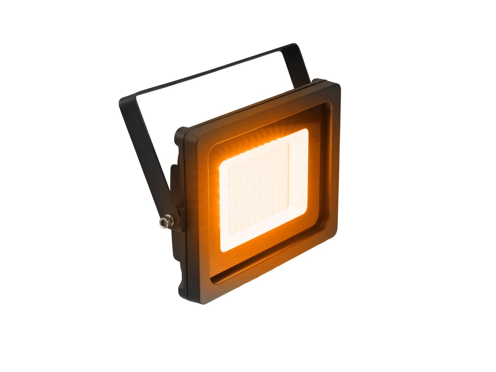 EUROLITE FL-30 Venkovní bodový reflektor, oranžový