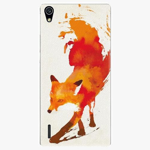 Plastový kryt iSaprio - Fast Fox - Huawei Ascend P7