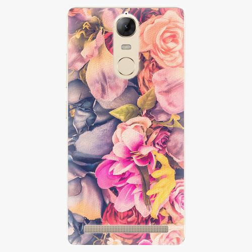Plastový kryt iSaprio - Beauty Flowers - Lenovo K5 Note