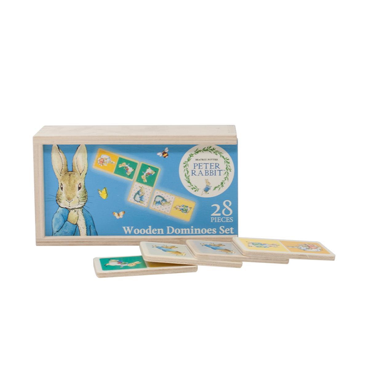 Rainbow Dřevěné domino králička Petra