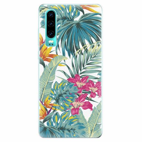 Silikonové pouzdro iSaprio - Tropical White 03 - Huawei P30