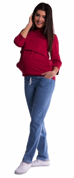 be-maamaa-tehotenske-kalhoty-svetly-jeans-xxxl-46