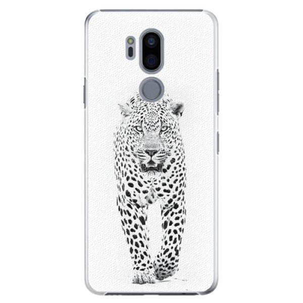Plastové pouzdro iSaprio - White Jaguar - LG G7