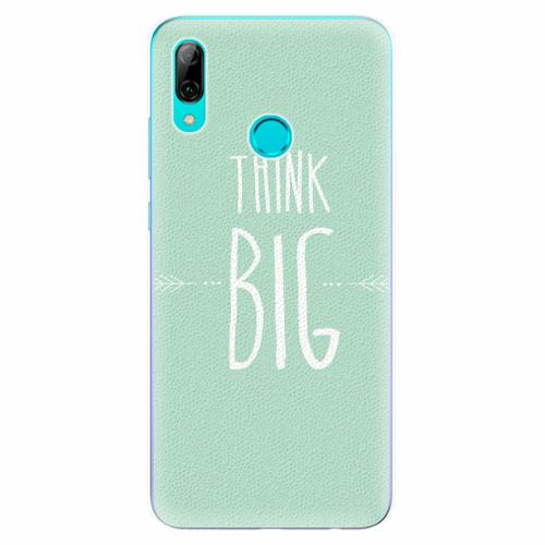 Silikonové pouzdro iSaprio - Think Big - Huawei P Smart 2019