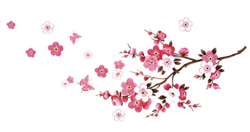 Samolepka na zeď - Sakura