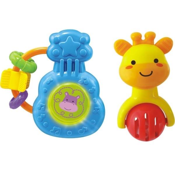 Edukační hračka Sada dvou chrastítek Smily Play