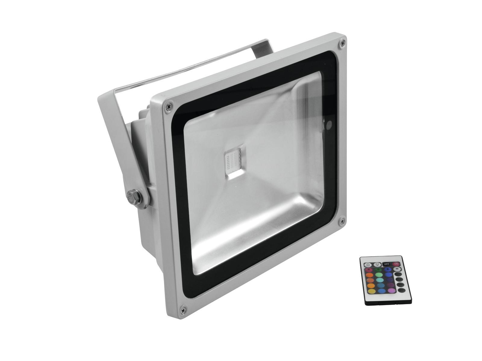 Eurolite LED IP FL-50 COB RGB 120 s dálkovým ovladačem