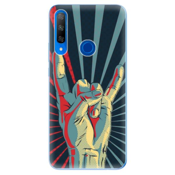 Odolné silikonové pouzdro iSaprio - Rock - Huawei Honor 9X