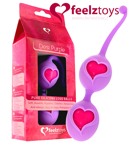 Feelz Toys Desi Love Balls Purple