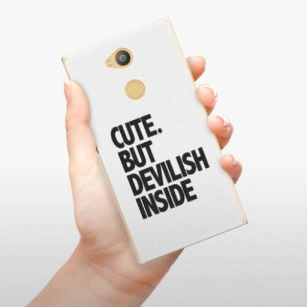 Plastové pouzdro iSaprio - Devilish inside - Sony Xperia L2