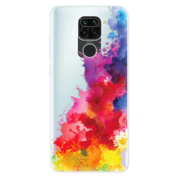 Odolné silikonové pouzdro iSaprio - Color Splash 01 - Xiaomi Redmi Note 9