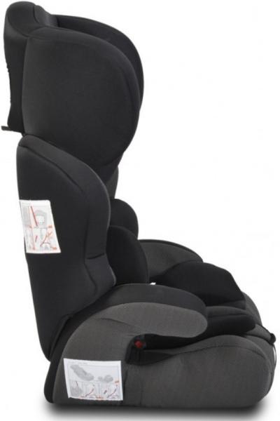 Cangaroo Autosedačka Deluxe 2021, 9-36kg - černá