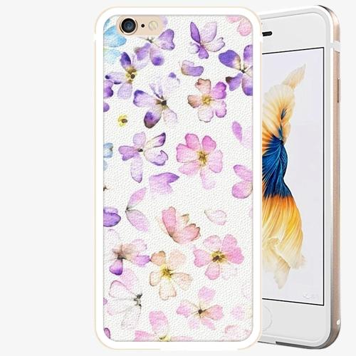Plastový kryt iSaprio - Wildflowers - iPhone 6 Plus/6S Plus - Gold