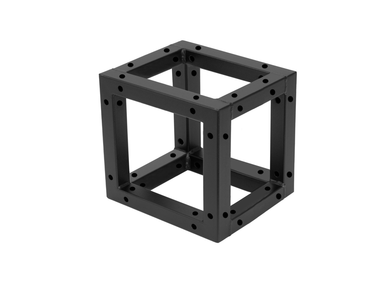 DECOTRUSS Quad, rohový díl černý