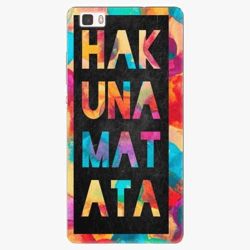 Plastový kryt iSaprio - Hakuna Matata 01 - Huawei Ascend P8 Lite