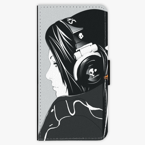 Flipové pouzdro iSaprio - Headphones - iPhone 7 Plus