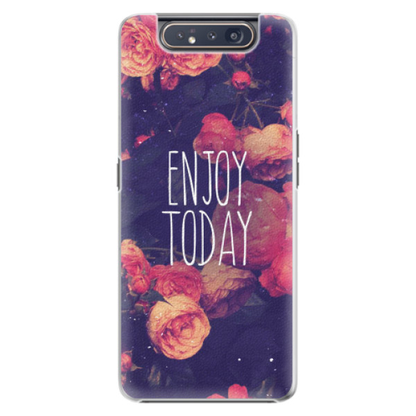 Plastové pouzdro iSaprio - Enjoy Today - Samsung Galaxy A80