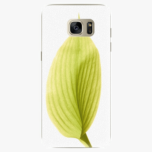 Plastový kryt iSaprio - Green Leaf - Samsung Galaxy S7