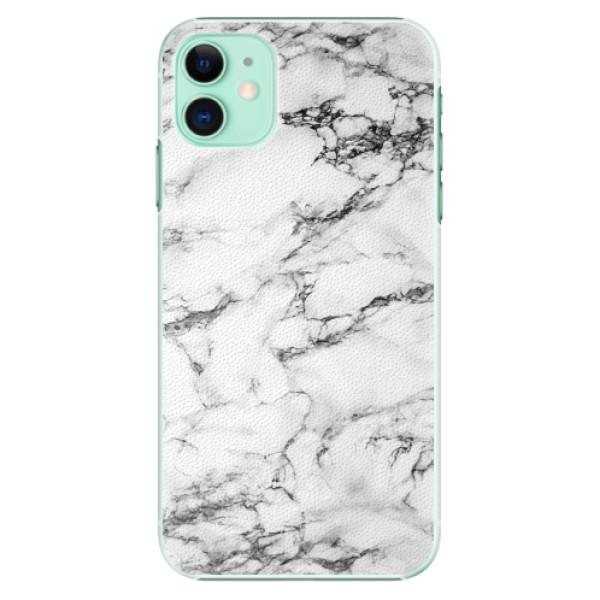 Plastové pouzdro iSaprio - White Marble 01 - iPhone 11