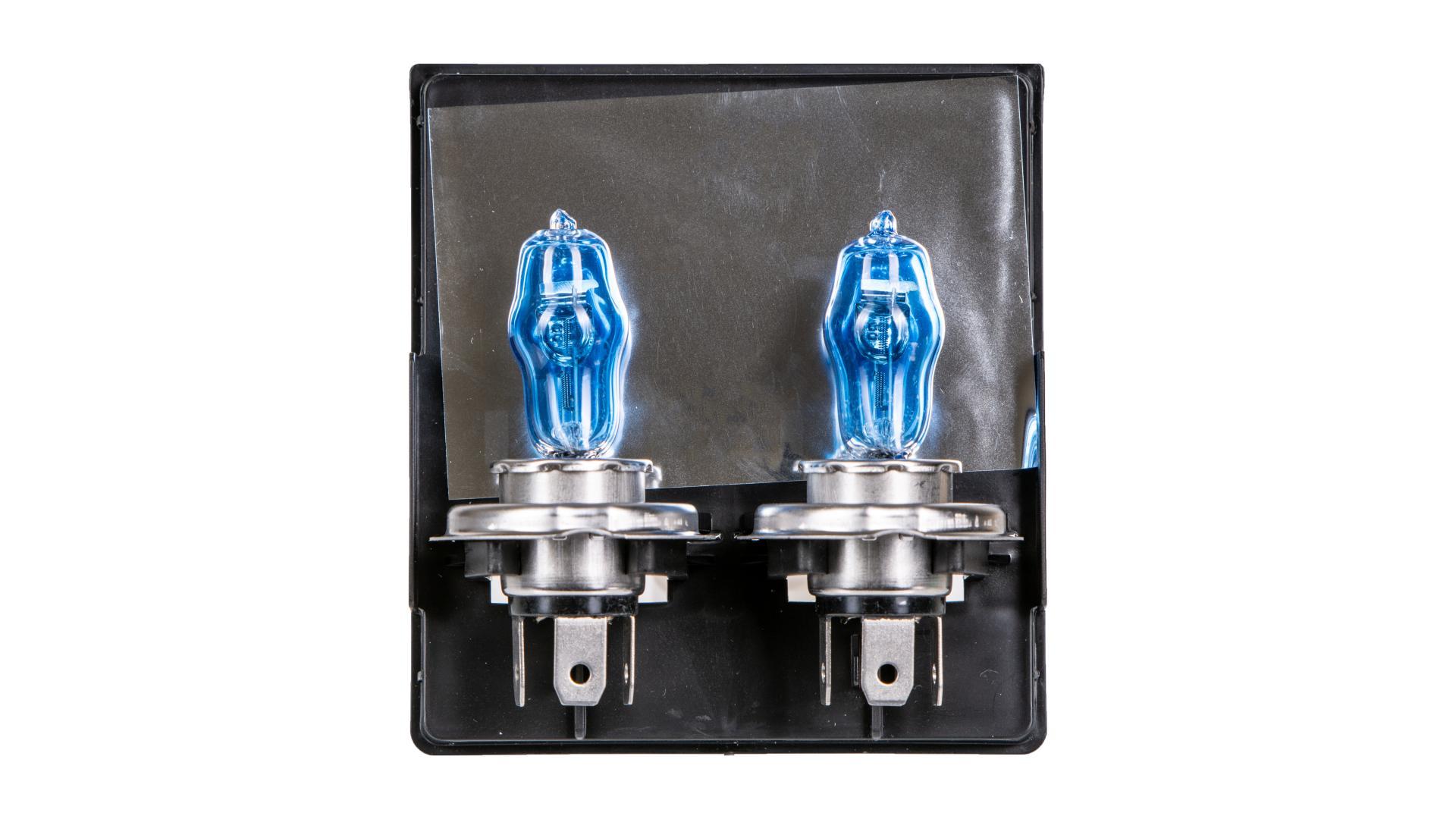 4CARS Hi-quality H4 HOD Najvěrnejší imitace xenonovýho svítení - super white 2ks
