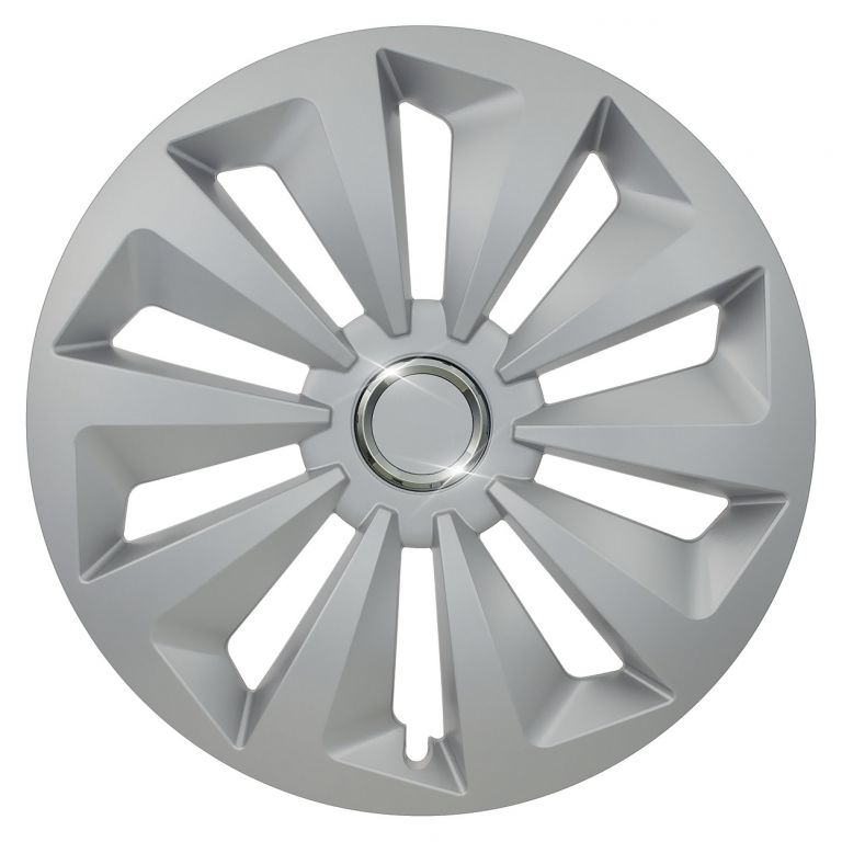 """Kryt kola Fox Ring 13"""", jeden kus - stříbrná"""