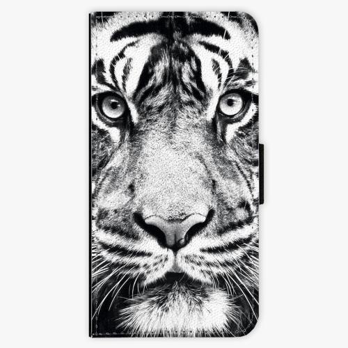 Flipové pouzdro iSaprio - Tiger Face - iPhone 7 Plus