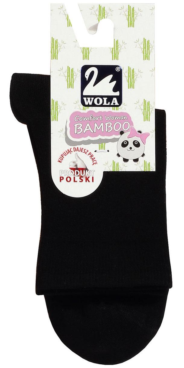 Dámské hladké ponožky Z BAMBOO