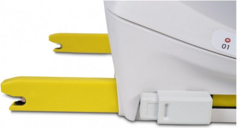 Cangaroo Autosedačka Hybrid Admiral 2021, 0-36kg, světle šedá