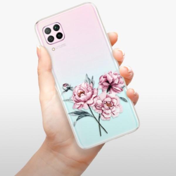 Odolné silikonové pouzdro iSaprio - Poeny - Huawei P40 Lite