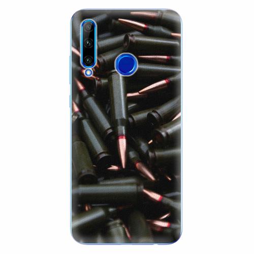 Silikonové pouzdro iSaprio - Black Bullet - Huawei Honor 20 Lite