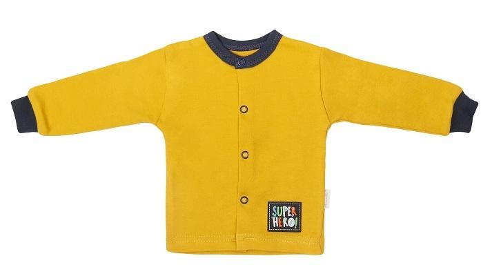 Mamatti Novorozenecká bavlněná košilka, kabátek, Hero
