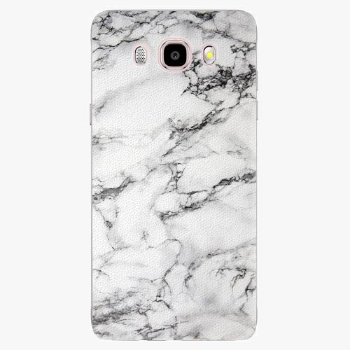 Plastový kryt iSaprio - White Marble 01 - Samsung Galaxy J5 2016