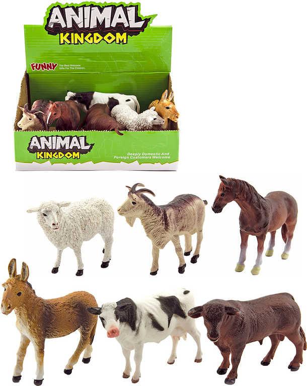 Zvířátka domácí farma 12cm různé druhy plast