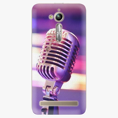 Plastový kryt iSaprio - Vintage Microphone - Asus ZenFone Go ZB500KL