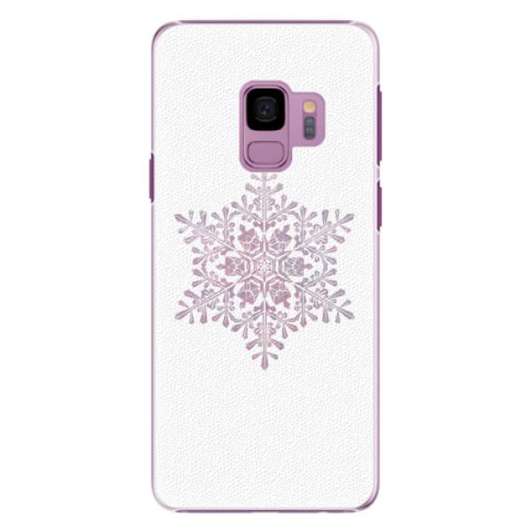 Plastové pouzdro iSaprio - Snow Flake - Samsung Galaxy S9