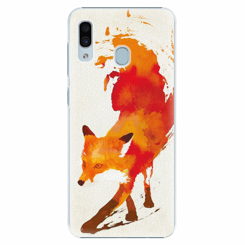 Plastový kryt iSaprio - Fast Fox - Samsung Galaxy A30