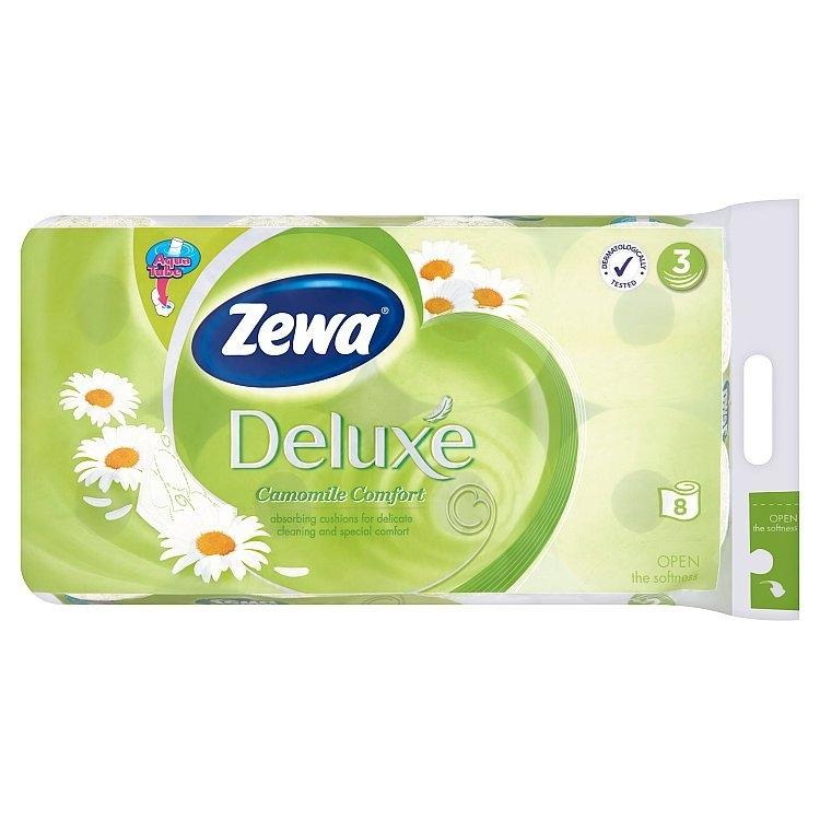 Deluxe Comfort Heřmánek toaletní papír parfémovaný, 3-vrstvý 8 ks