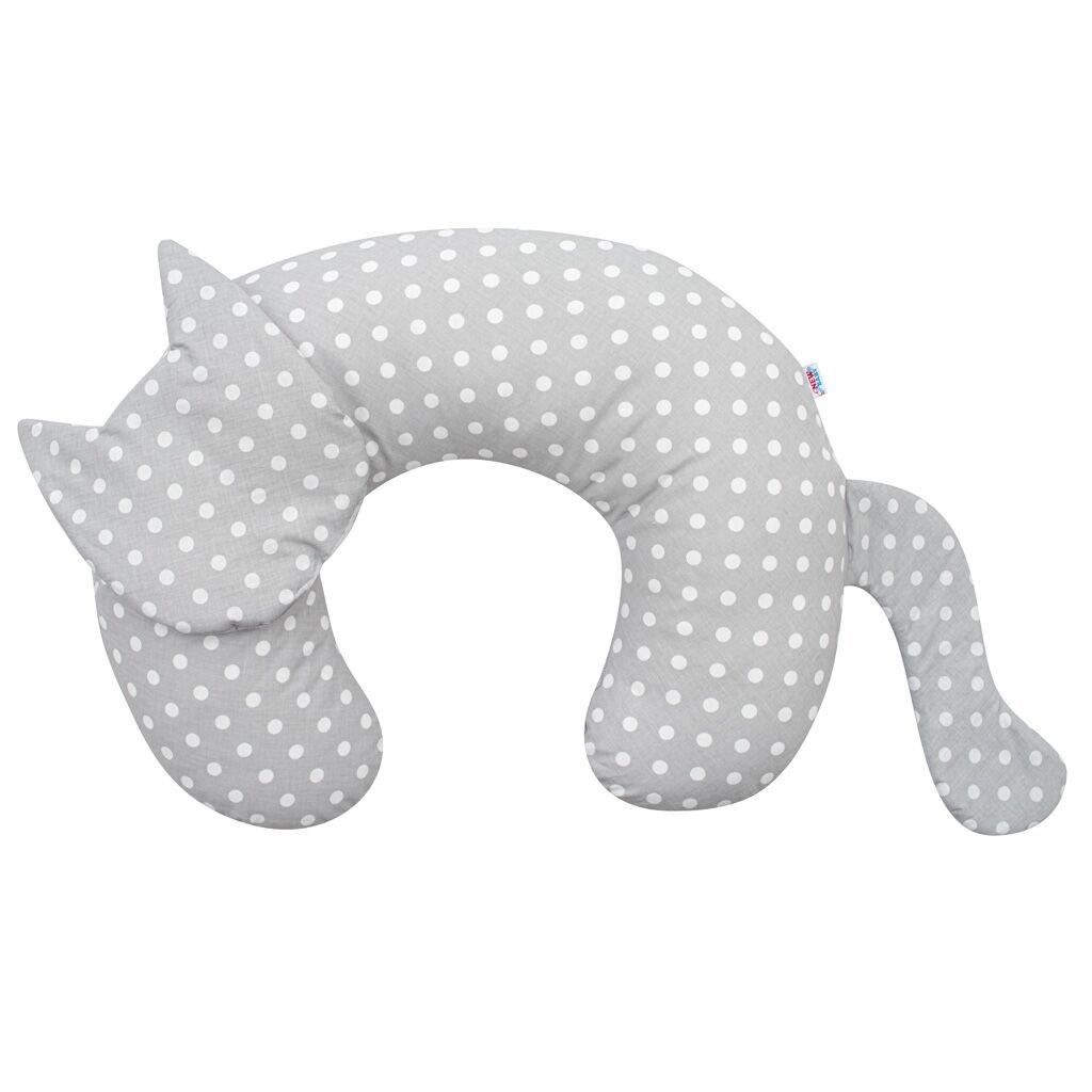 Kojící polštář New Baby Kočka Velvet